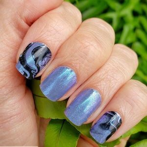 Other - Iridescent color changing Nail Polish Strips.